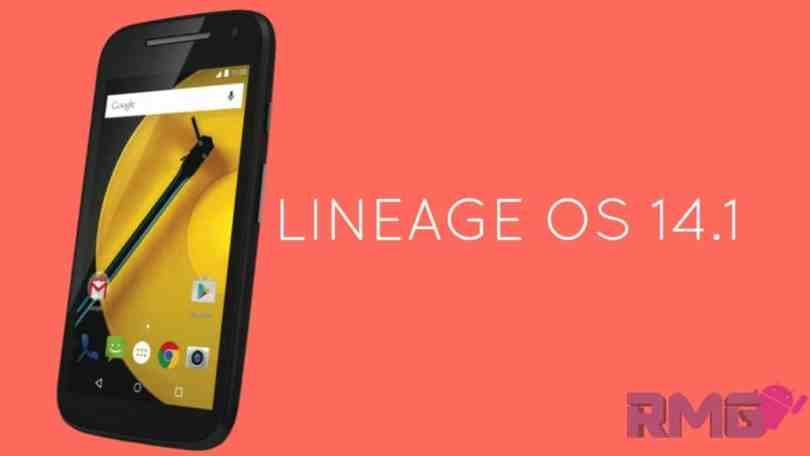 Lineage Os 14.1 On Moto E2