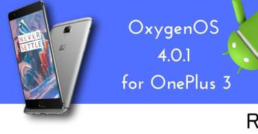 OxygenOS 4.0.1 for OnePlus 3
