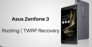TWRP Recovery on Asus Zenfone 3