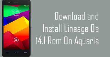 Lineage Os 14.1 ROM On Aquaris E5 4G