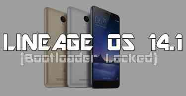 How To Install LineageOS 14.1 on Xiaomi Redmi Note 3 (locked bootloader)