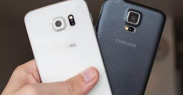 Samsung Galaxy S6 and S5