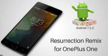 Resurrection Remix on OnePlus One