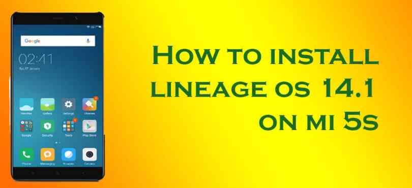 Lineage OS 14.1 on Xiaomi Mi 5s Plus