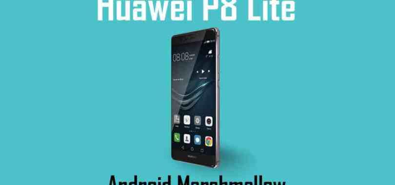 Download Huawei P8 Lite B601 Marshmallow Firmware