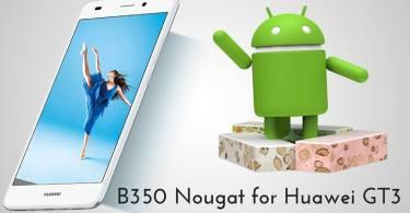 B350 Nougat on Huawei GT3