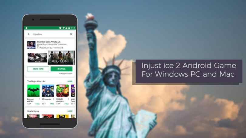 Download Injustice 2 Android Game For Windows PC and Mac