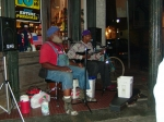 Grandpa Elliot and singing parter. Photo by Sylvia Barnett.