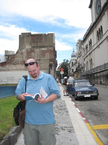 Thanks to our guidebook, I navigated those streets like a human GPS