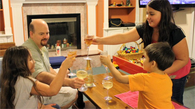 Cheers from the Root of Good family! Happy New Year!
