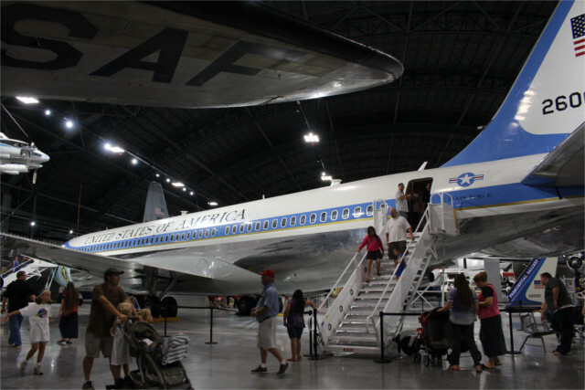 Kennedy's Air Force One.