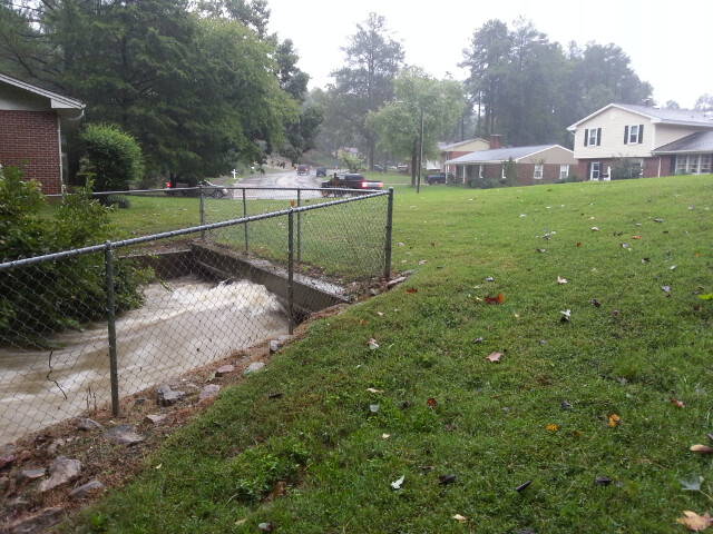 Hurricane Matthew blew through in October. Culvert underneath our property almost topped out. That plus 4-5 more feet of water equals a flooded crawlspace.