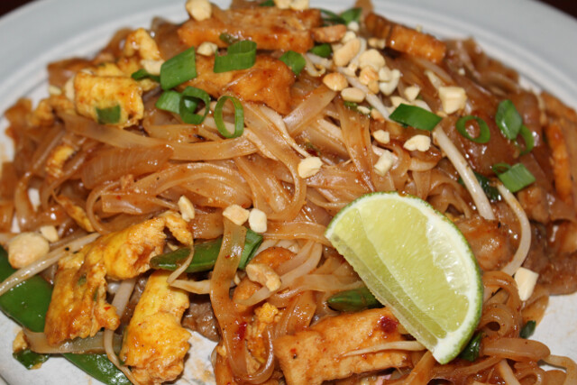 My delicious homemade pad thai