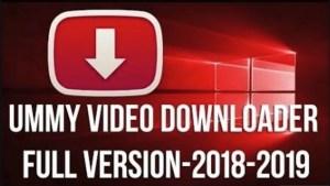 Ummy Video Downloader v1.10.3.2 Crack & Keygen Free Download 2019