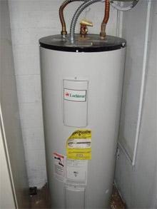 heater utility area