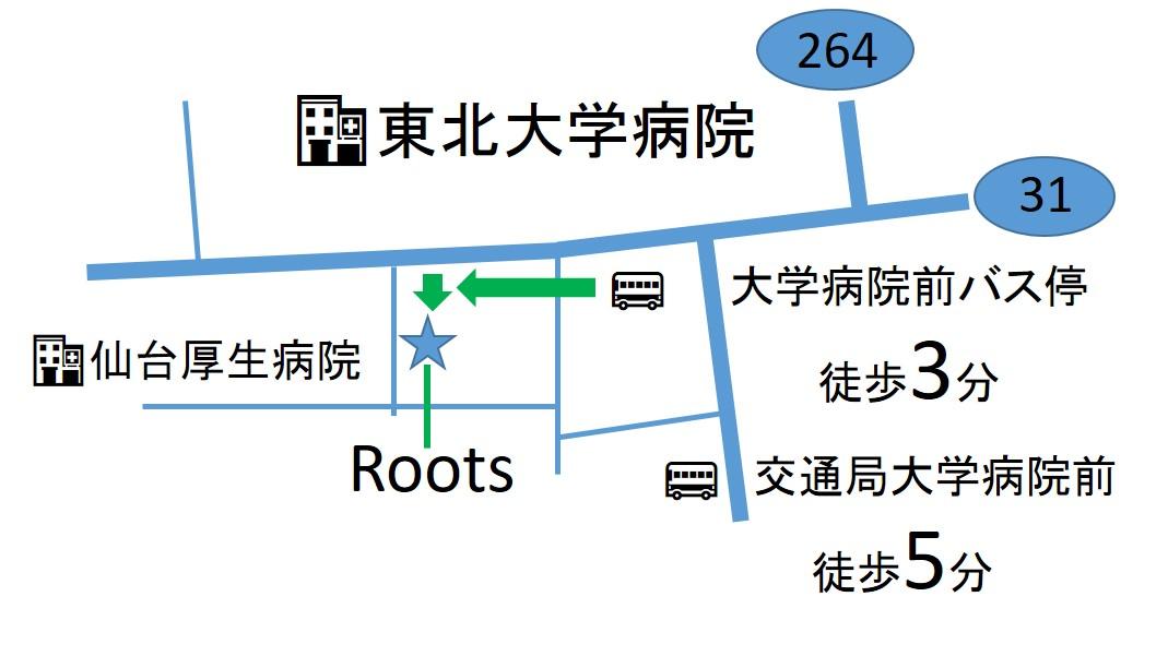 仙台の整体で筋膜を施術するルーツ