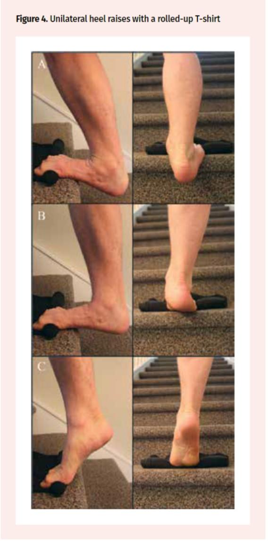 仙台市青葉区で足底腱膜炎の筋トレを行う整体