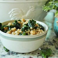 Blueberry Kale Couscous Salad