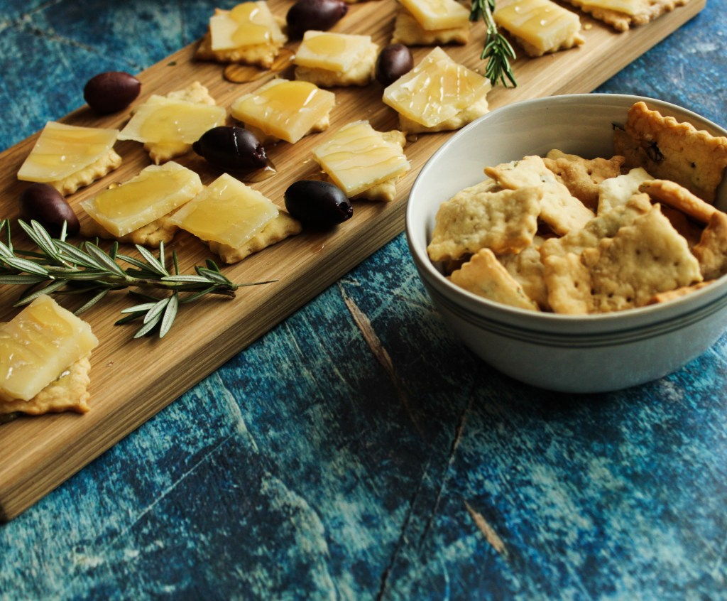 Herb & Olive Oil Crackers