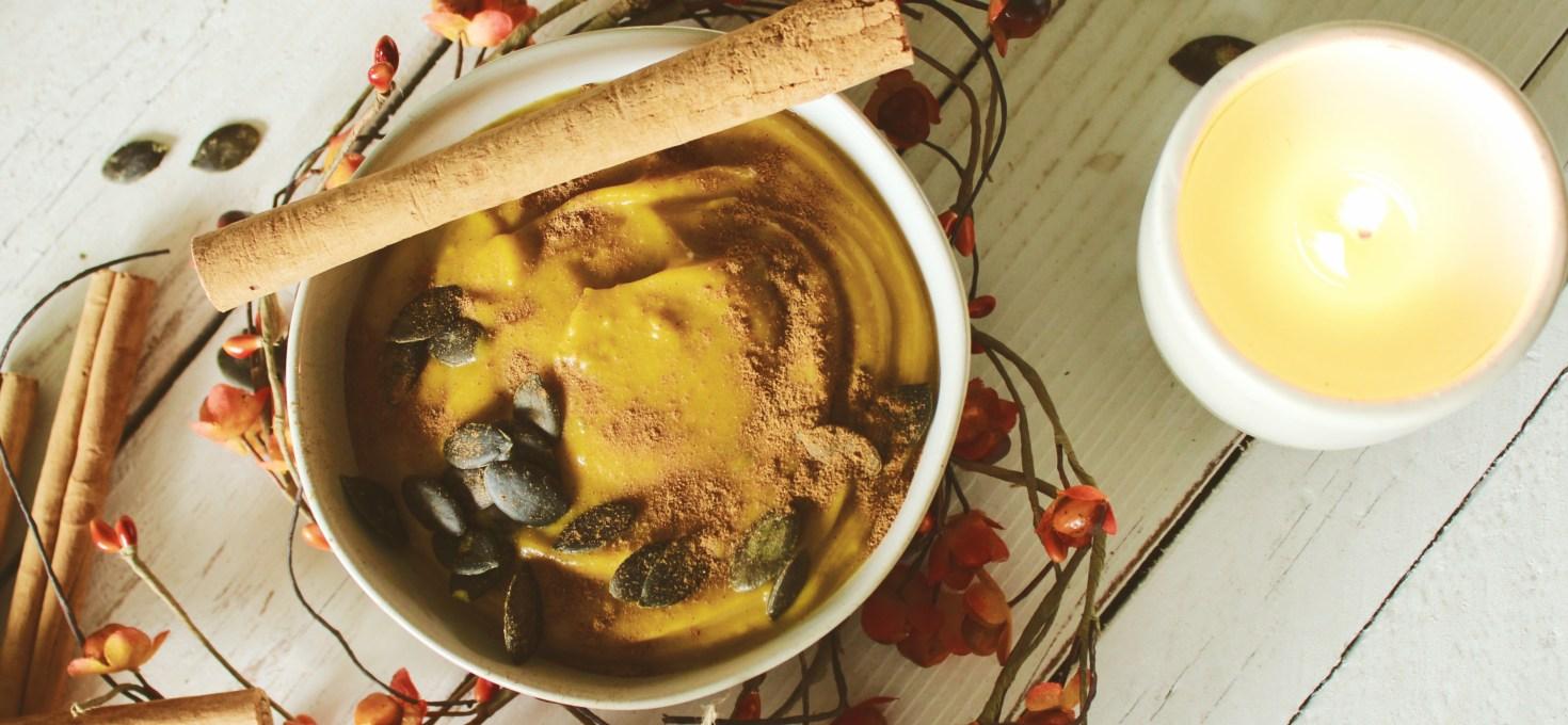 Spiced Paleo Pumpkin Soup