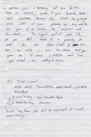 Adam's Letters 8-18-99 1b