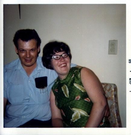 Warren & DeeDee Weber 1968