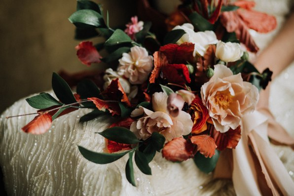 Fall Wedding Bouquet-Roots Floral Design