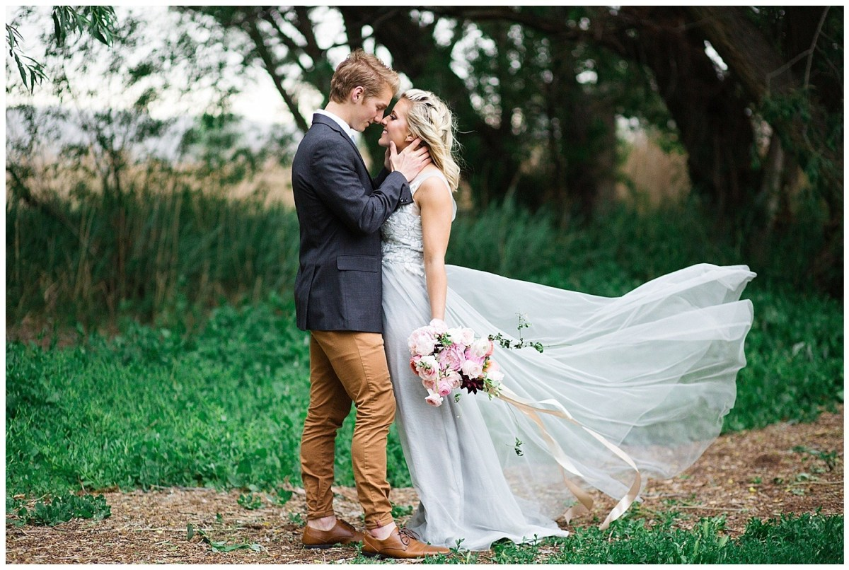 Tulle Wedding Dress Forest Wedding