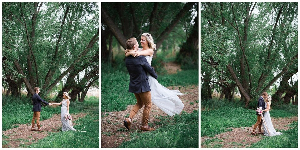 Tulle Wedding Dress Forest Wedding