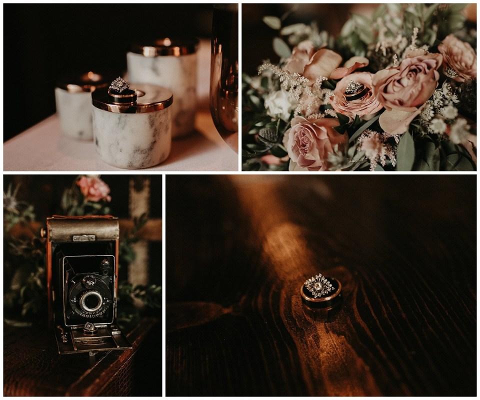 Rustic Summer Wedding | Quiet Meadow Farms | Wedding Ring Shot