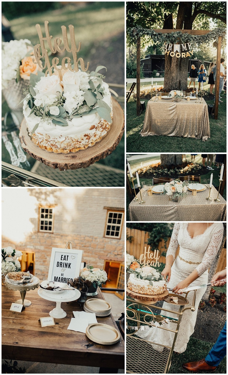 sage eucalyptus table runners cake ideas