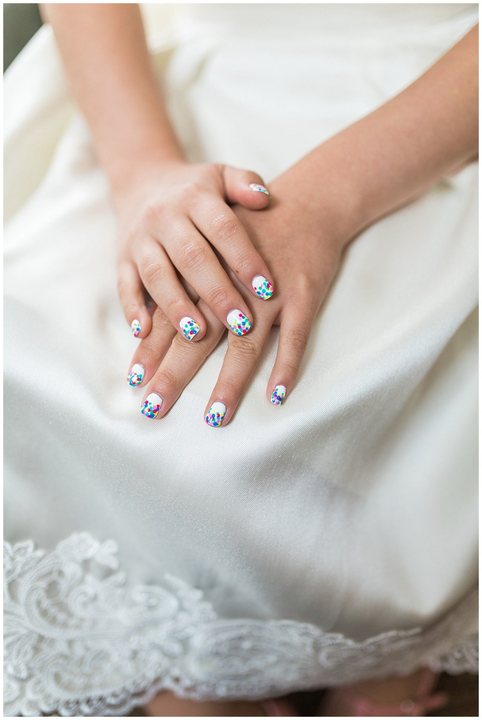 Colorful Summer Wedding Nails