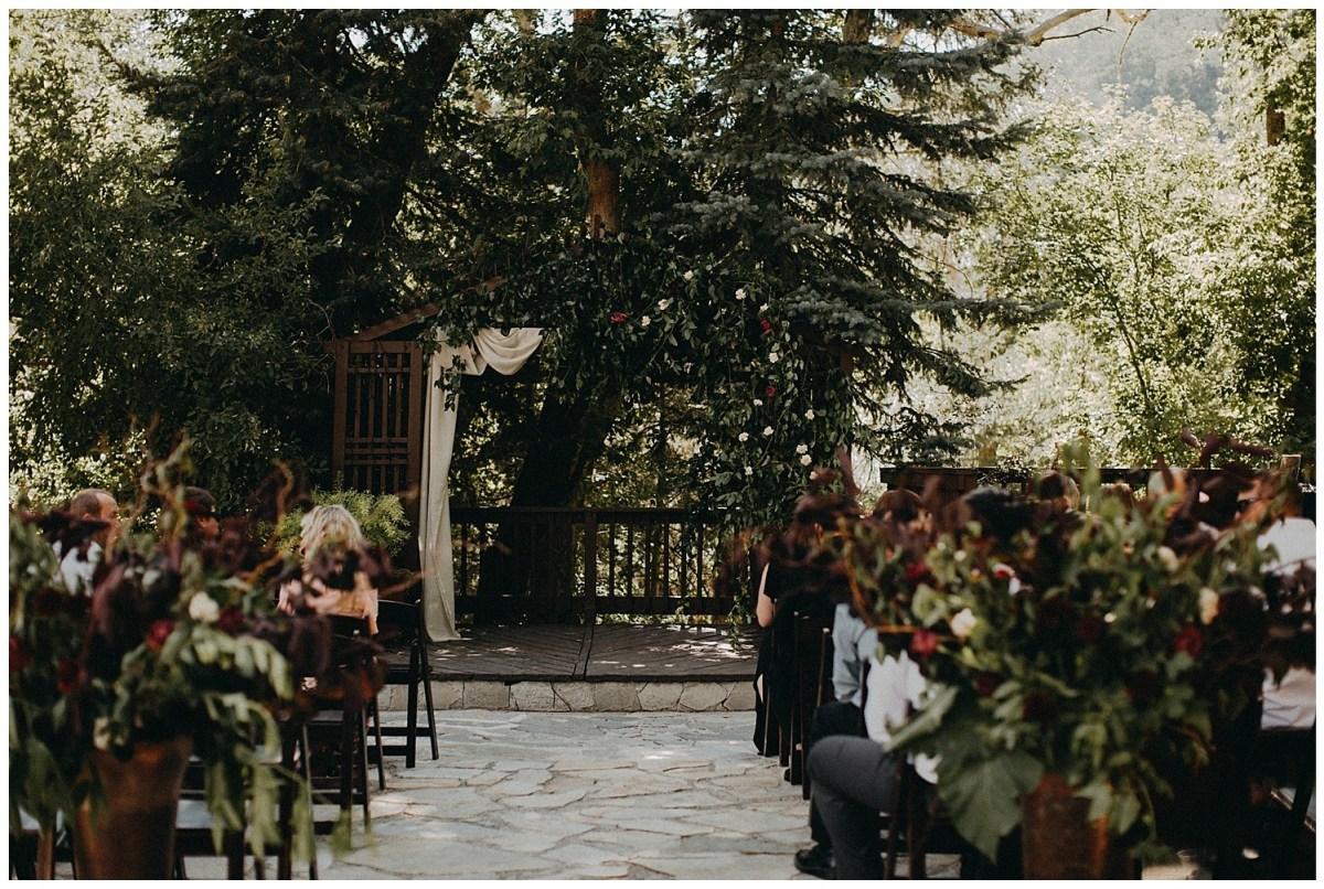 Moody Floral Wedding