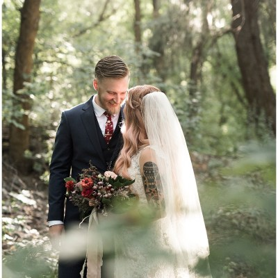 Travis + Hether | Romantic Garden Wedding