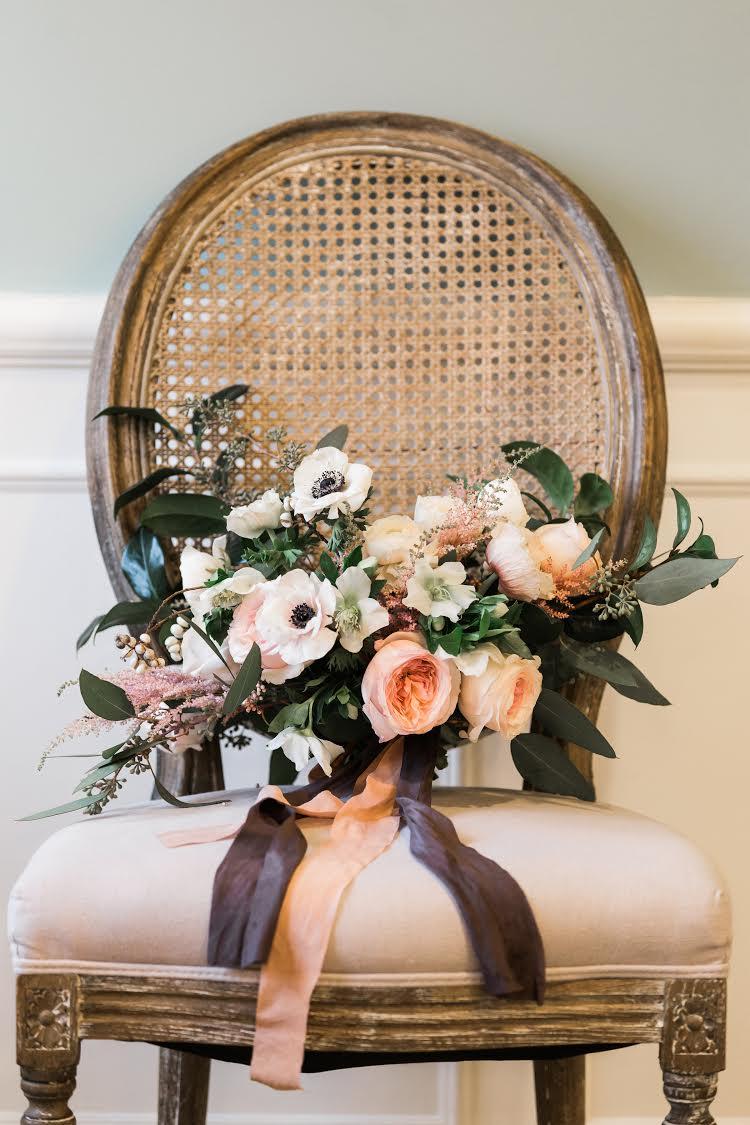 Anemone flower bouquet