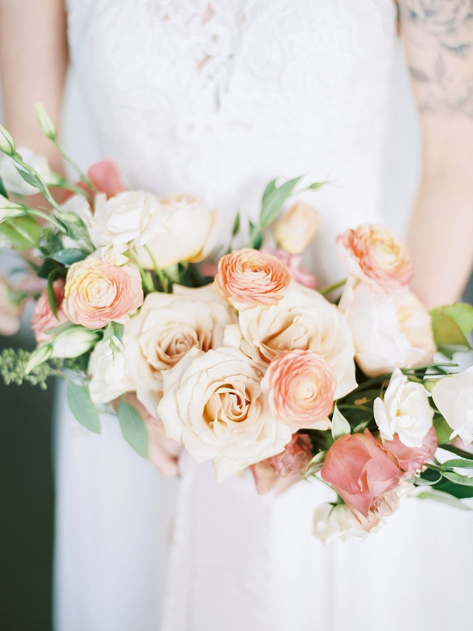 Elegant and Organic Wedding | Roots Floral Design