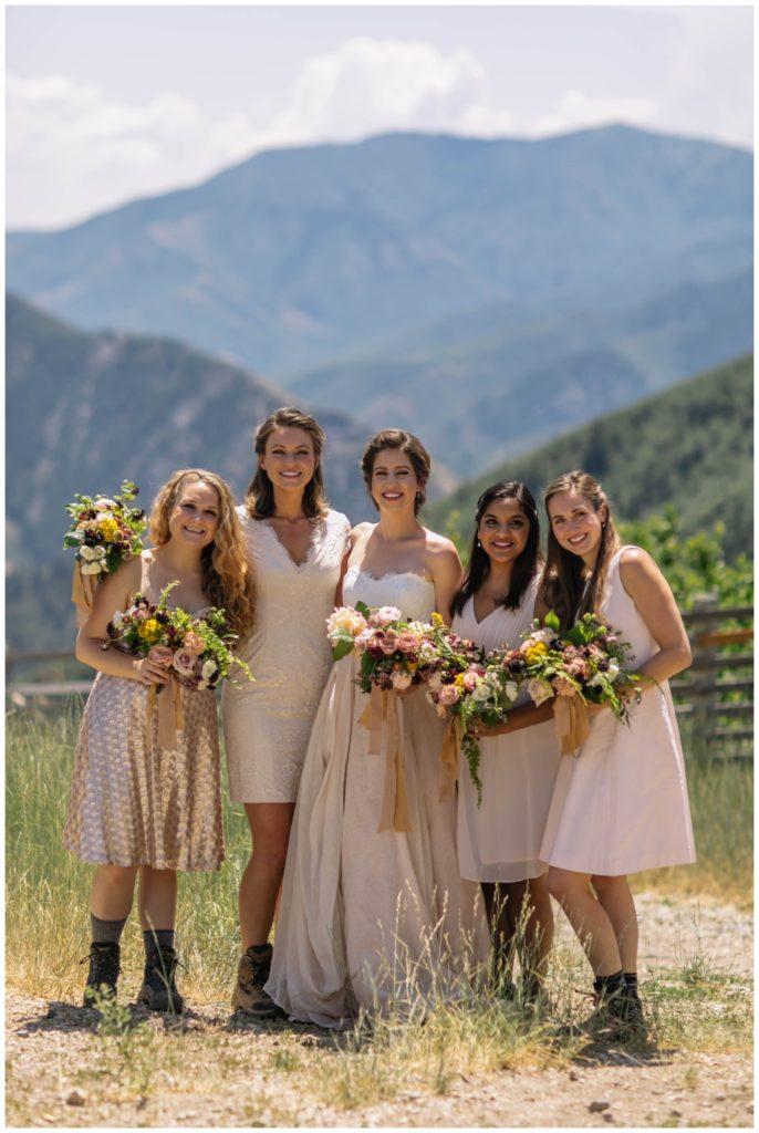Summer Destination Wedding in the Mountains | Best Ohio Wedding Florist
