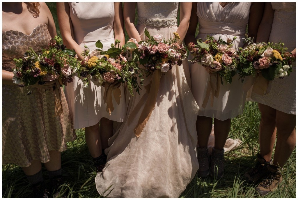 Ohio Wedding Florist   Woodsy Forest Mountain Wedding