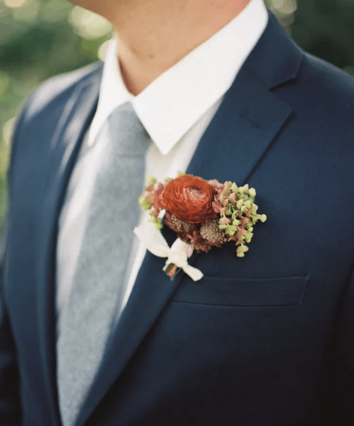Quick Reference Guide for Wedding Boutonnieres