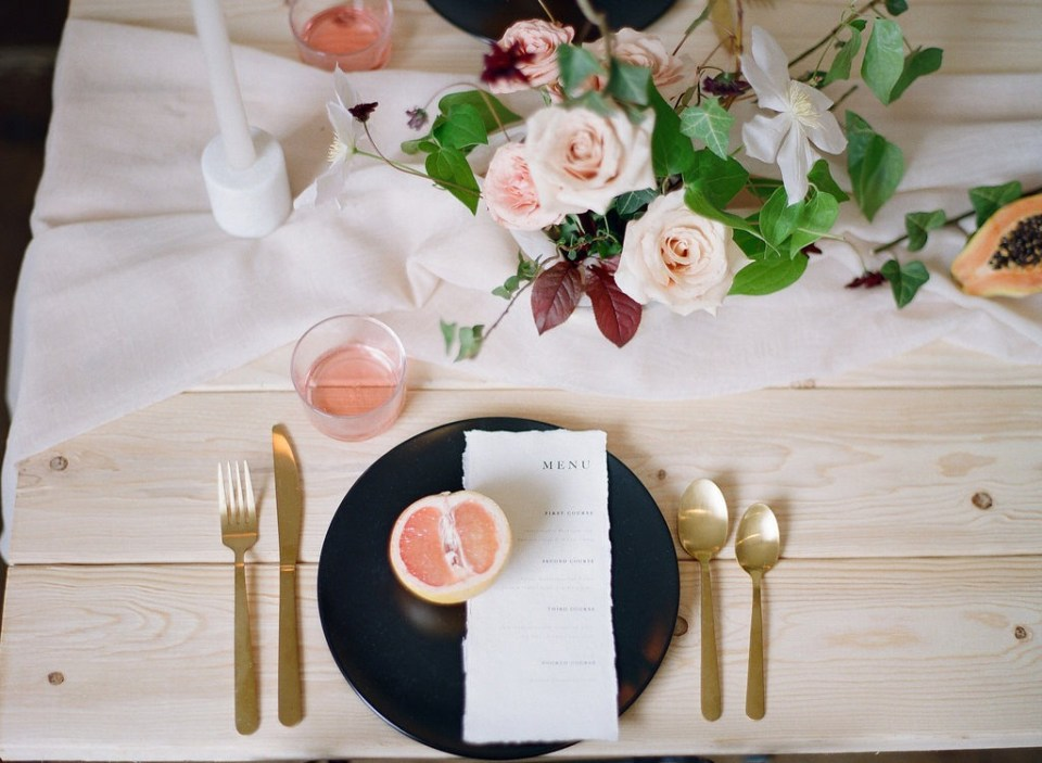 A Romantic Garden Style Wedding Shoot | Louisville Wedding Florist