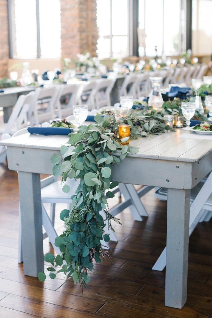 flower centerpieces, garland