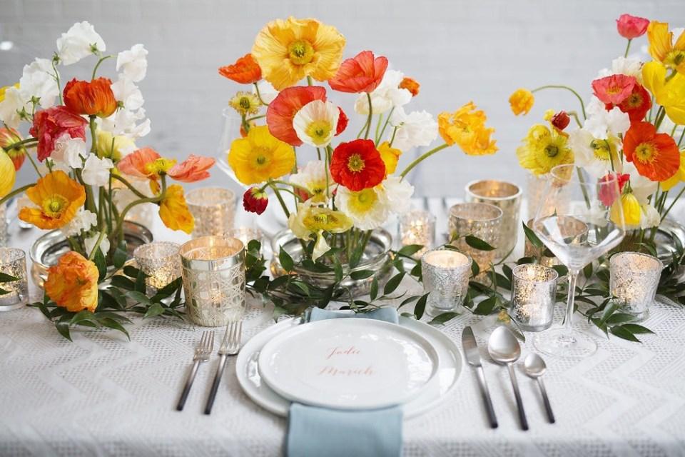 A Colorful + Modern Styled Wedding Shoot | Kentucky Wedding Florist