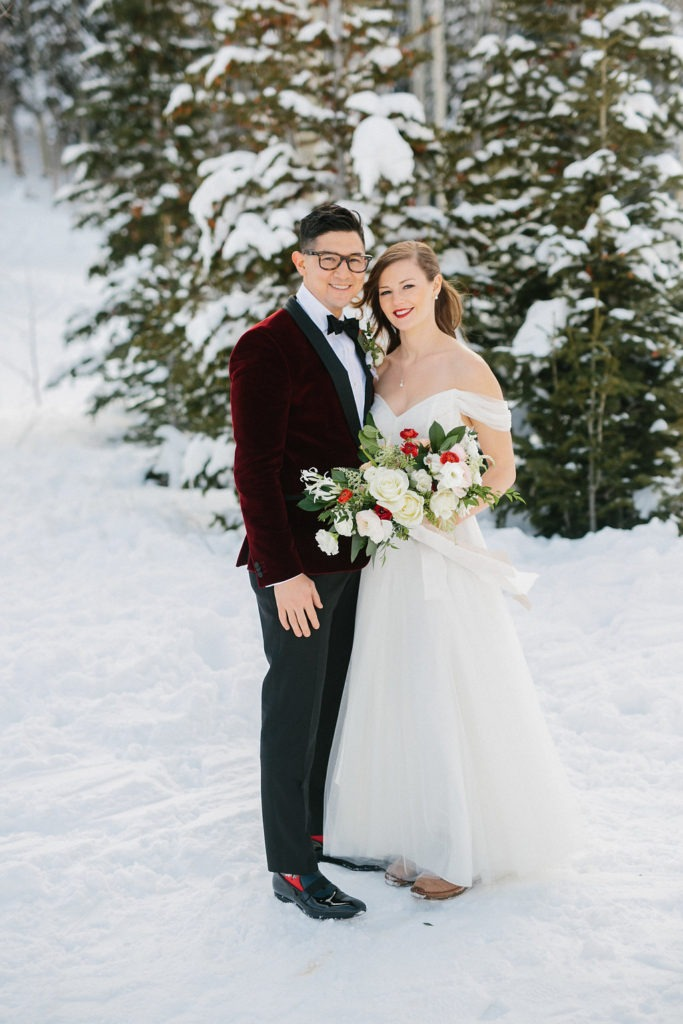 lexington wedding florist, kentucky winter wedding