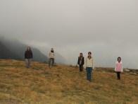 Our LOST shot - me, Eva, Marie, Clarke, Cheryl.