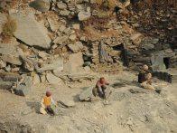 Slate miners.