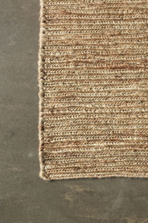 Natural Braid Hemp Rug interior
