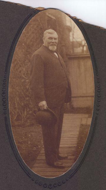 Walter Noteboom, c. 1905, probably in Brooklyn, NY