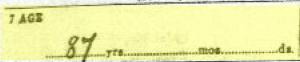 Xaver Schillinger Death Certificate Annotation 3