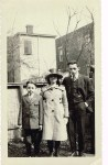 Frank, Mae and Gerald Thomas circa 1915 courtesy of cousin Paul