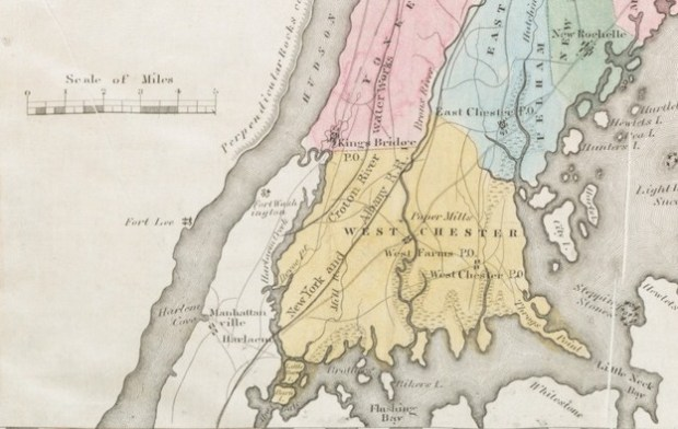 Excerpt of Map of Westchester County